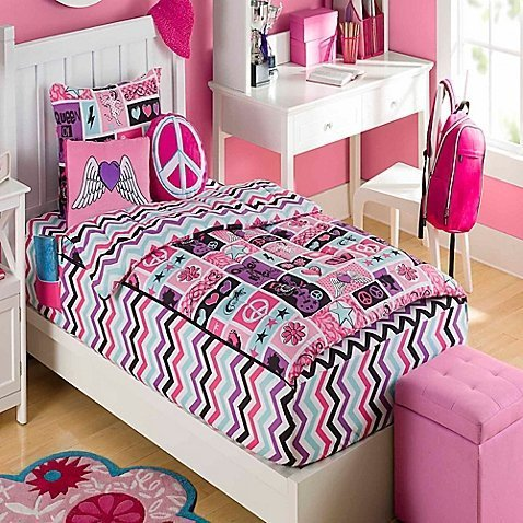 Zipit Bedding COMIN18JU009059 Rocking Princess Bedding ()