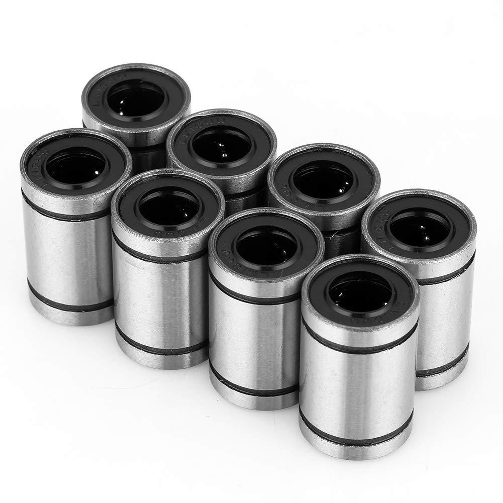 8/pcs Lm10uu 10/mm /à roulement /à billes imprimante 3d CNC pi/èces bushing Linear Motion accessoire lin/éaire Roulement /à billes