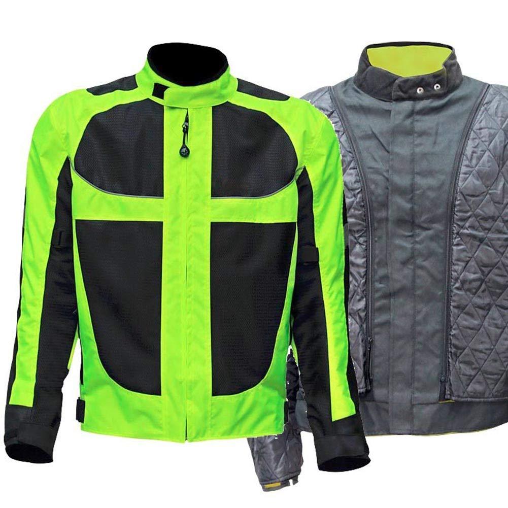 LUHHH Winter-Motorrad-Männer der Frau Jacke Moto Protektoren Jacke Reflektierende Bekleidung Motorrad-Jacken-Hosen