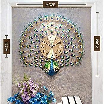 Peacock Mamotth Wall Clock