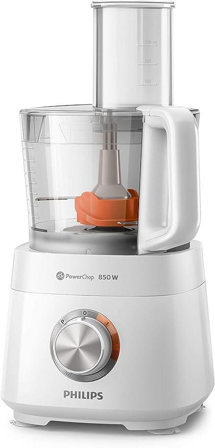 Philips Viva Collection HR7520/01 - Robot de cocina (2,1 L, Blanco, China, SAN, 850 W, 244 x 244 x 377 mm): Amazon.es: Hogar