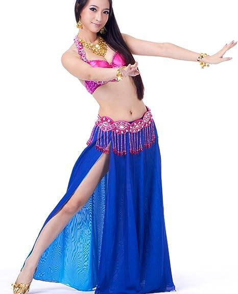 Dance Fairy azul marino Danza del Vientre Set sujetador atractivo ...