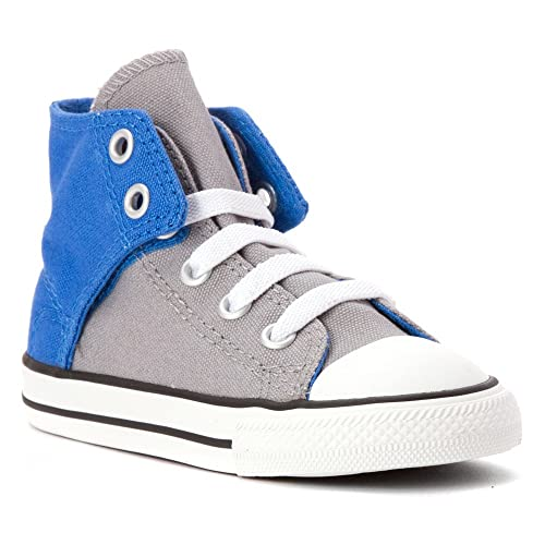 15903c54613d Converse All Star High Street Boys Toddler High-Top Slip-on Sneaker (2  Infant M, Dolphin Grey/Blue): Amazon.fr: Chaussures et Sacs