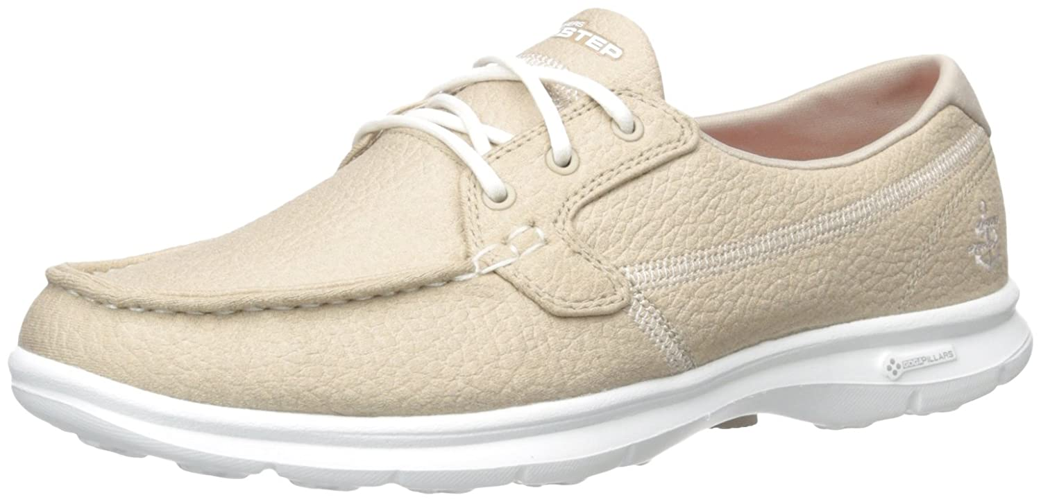 Skechers Go Go Step Riptide, Chaussures 12647 B009VBY0PU Bateau Femme, Taupe Beige (Nat) ecaf47d - conorscully.space
