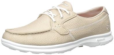 48a5db8f95f9d Skechers Women's Go Step-Riptide Boat Shoes: Amazon.co.uk: Shoes & Bags