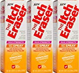eraser spray - The Itch Eraser Spray Insect Bite Treatment, 0.95 Ounce  (Pack of 3)