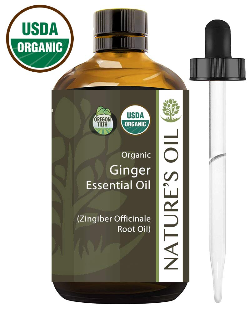 Best Ginger Essential Oil Pure Certified Organic Therapeutic Grade 10ml