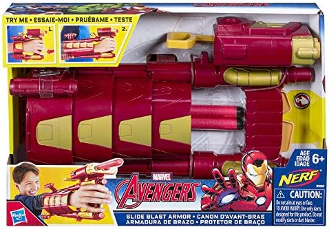 Avengers Marvel Iron Man Slide Blast Armour