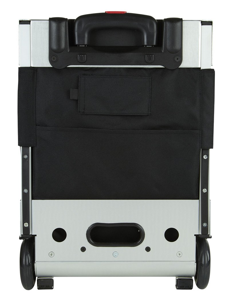 Zuca Flyer Artist Silver Frame with a Black Insert Bag, 5 Clear Vinyl Utility Pouches, and Matching Travel Cover - the Zuca Ultimate by ZUCA (Image #6)