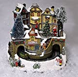 Kingfisher Animated Christmas Train Town Scene. Led Lights & Sound. Low Voltage. Xmas.