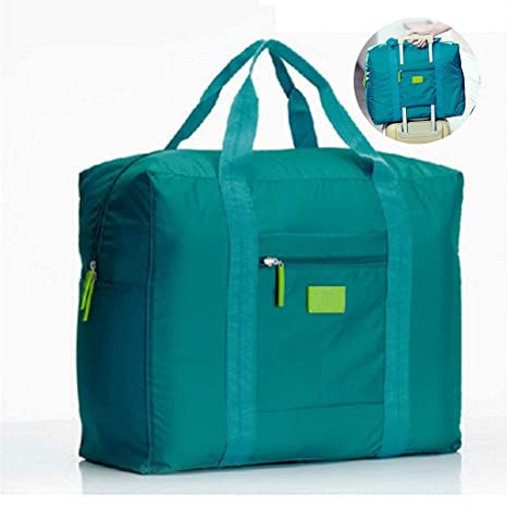 jooks viaje bolso plegable bolsa de viaje equipaje de mano ligero equipaje maleta ropa bolsa de almacenamiento Ideal para Camping y gimnasio verde