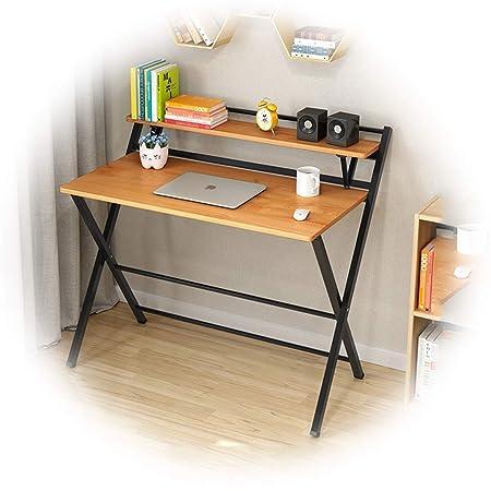 Mesa Plegable Simple para computadora de Escritorio con Bisel de ...