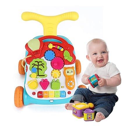 Y&MoD 3 en 1 Andador Bebés Multifuncional Carrito, Interactivo ...