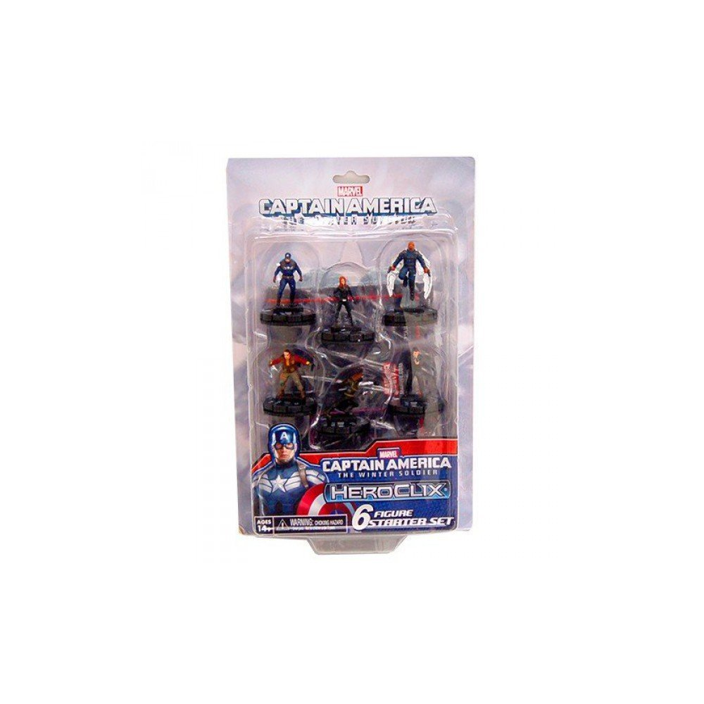 Marvel: Captain America Winter Soldier Heroclix Starter