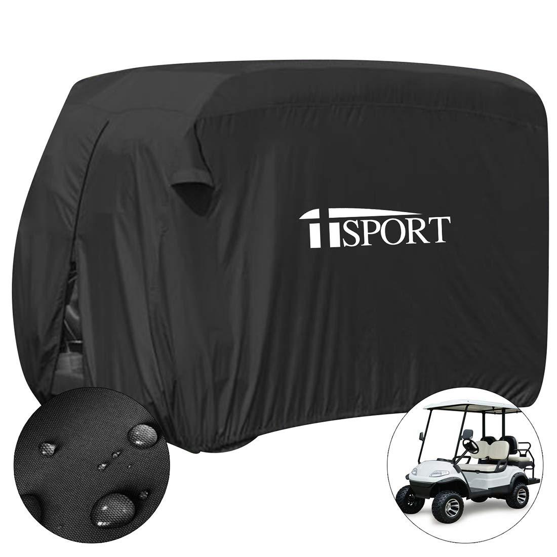iiSport - Funda para Carrito de Golf, Impermeable, para Yamaha y Club Car, 4 Person: 112