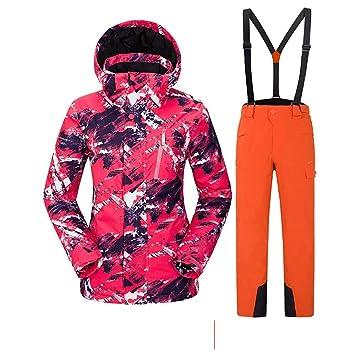 Veste de ski femme poivre blanc