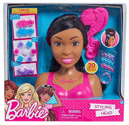 Barbie Small Styling Head AA Toy, Multicolor ()