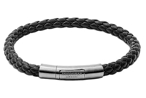 Tateossian Men's Black Tubo Charles Taito Bracelet BL7254 Gr4IJI