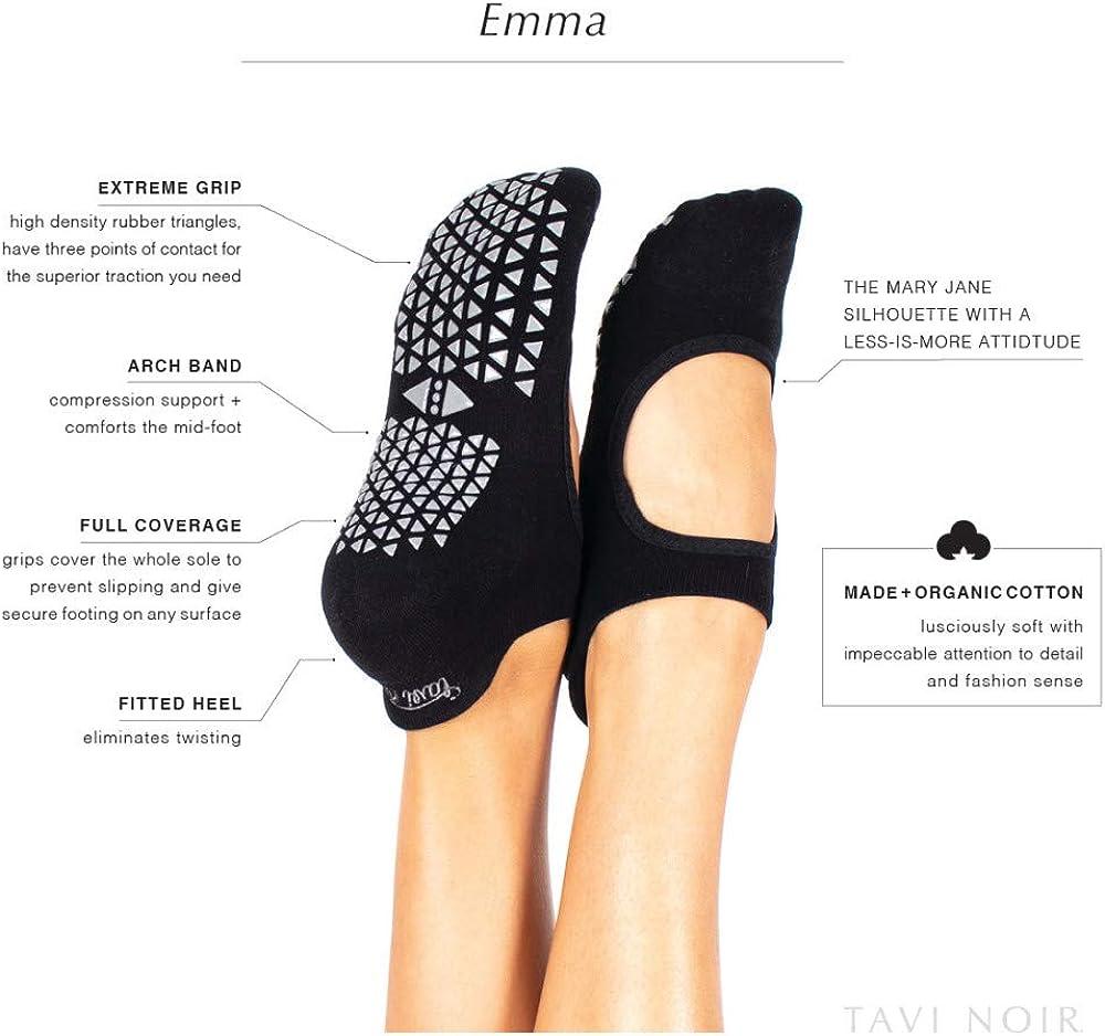 SISSEL TAVI EMMA HAZE SMALL Chaussettes antid/érapantes PILATES Femme GRIS CLAIR FR Taille Fabricant : S S