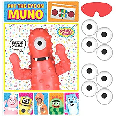 Hip and Hop Yo Gabba Gabba Party Game |Birthday Party Favors | Toy and Prize Giveaway: Toys & Games