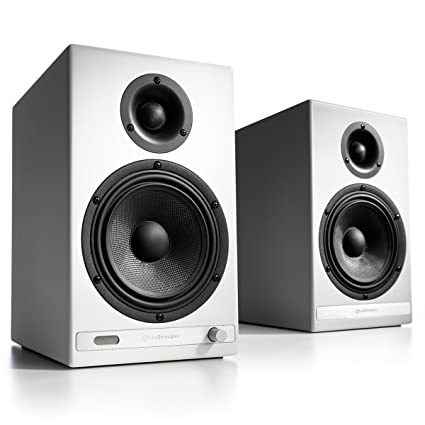 Audioengine HD6 Premium Powered Wireless Bookshelf Speakers
