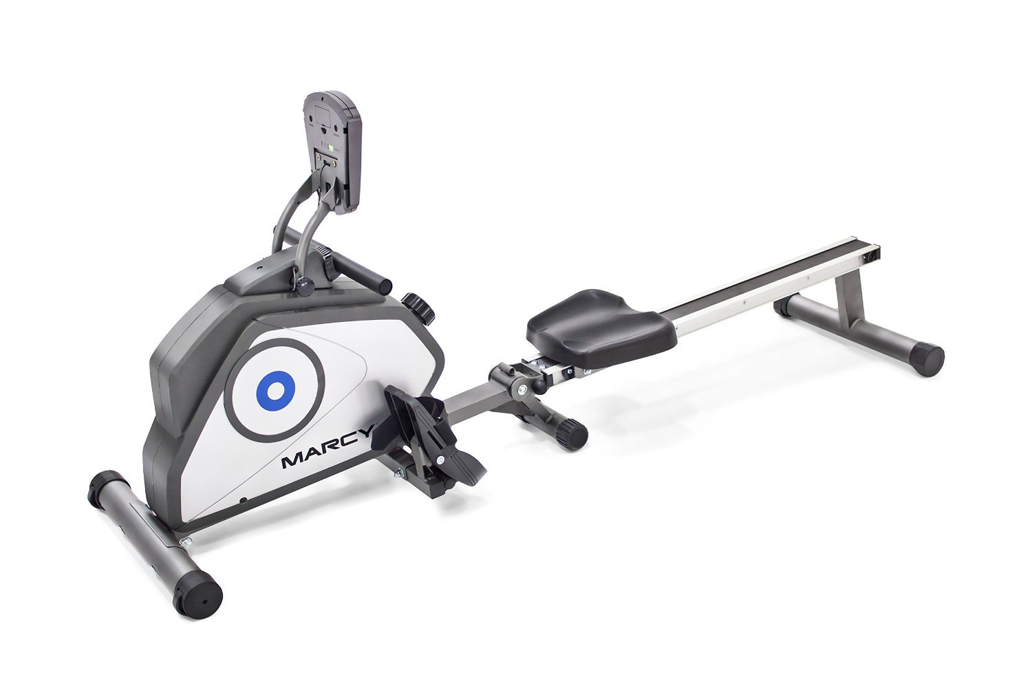 Marcy Foldable 8-Level Magnetic Resistance Rowing Machine with Transport Wheels NS-40503RW by Marcy