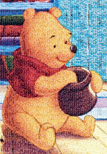 1000 Piece Photo Jigsaw - 1000 Piece Photo Mosaic Jigsaw Puzzle Winnie the Pooh (51x73.5cm)