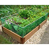 Frame-It-All Small Animal Barrier Stainless Steel Expandable Garden Fence