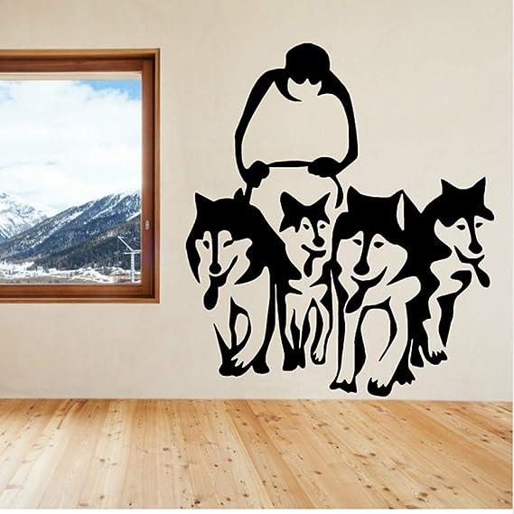 Mhdxmp Un Grupo De Perro Husky Huskies Arte Tatuajes De Pared ...