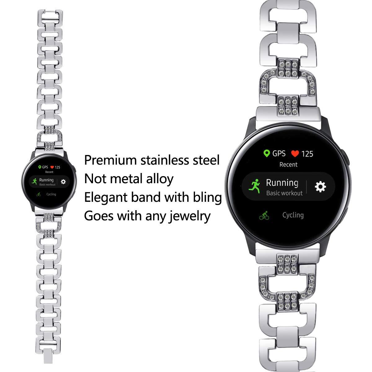 SPGUARD Pulsera de Repuesto para Samsung Watch Active/Galaxy Watch ...