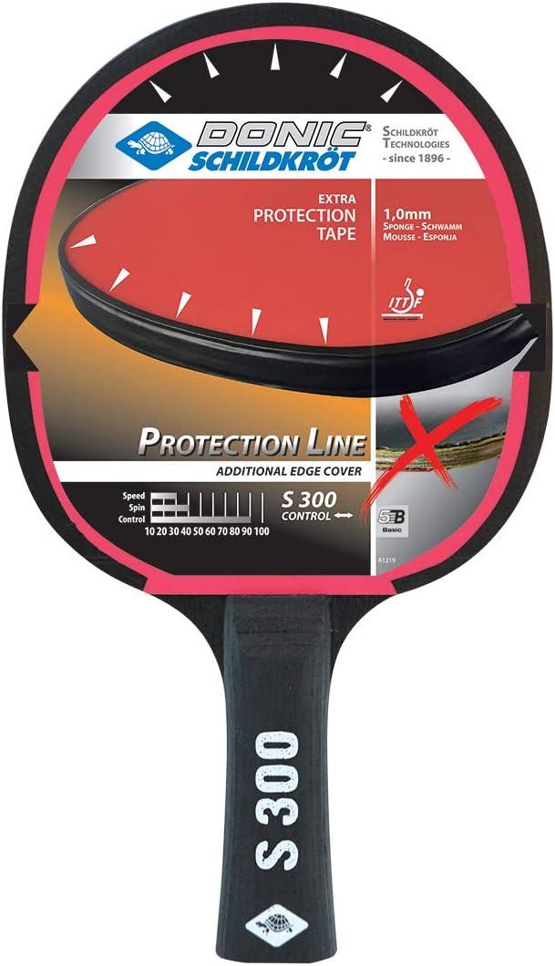 FLy Donic S 300 Protection - Raqueta de Tenis de Mesa