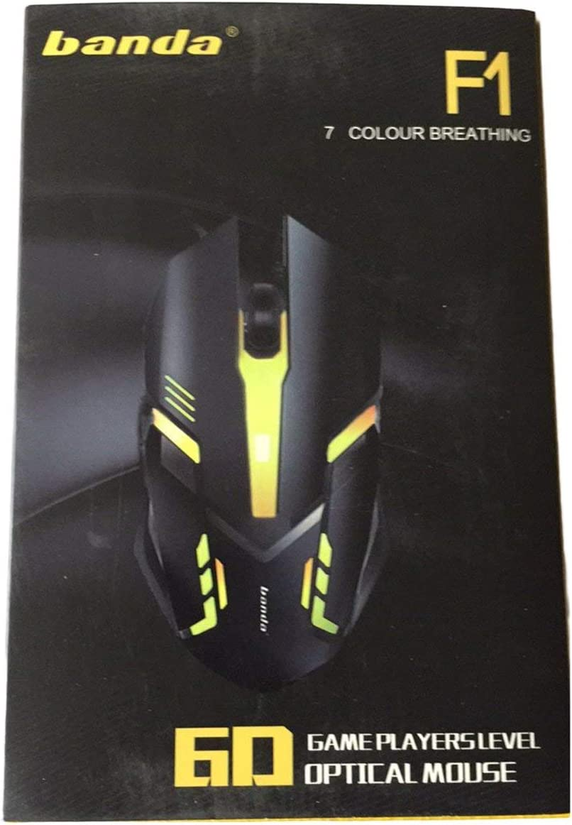 Professional G41 2.4GHz 1600dpi Optical Wired Gaming Game Mouse with USB 6 Buttons Gaming Mouse Computer Mice for PC Laptop
