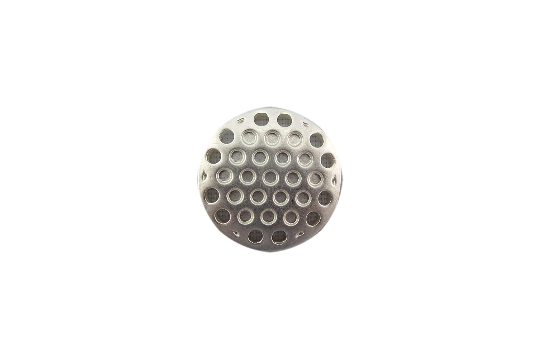 Couleur : argent/é Broche magn/étique en acier inoxydable 20 mm Bijou fait main