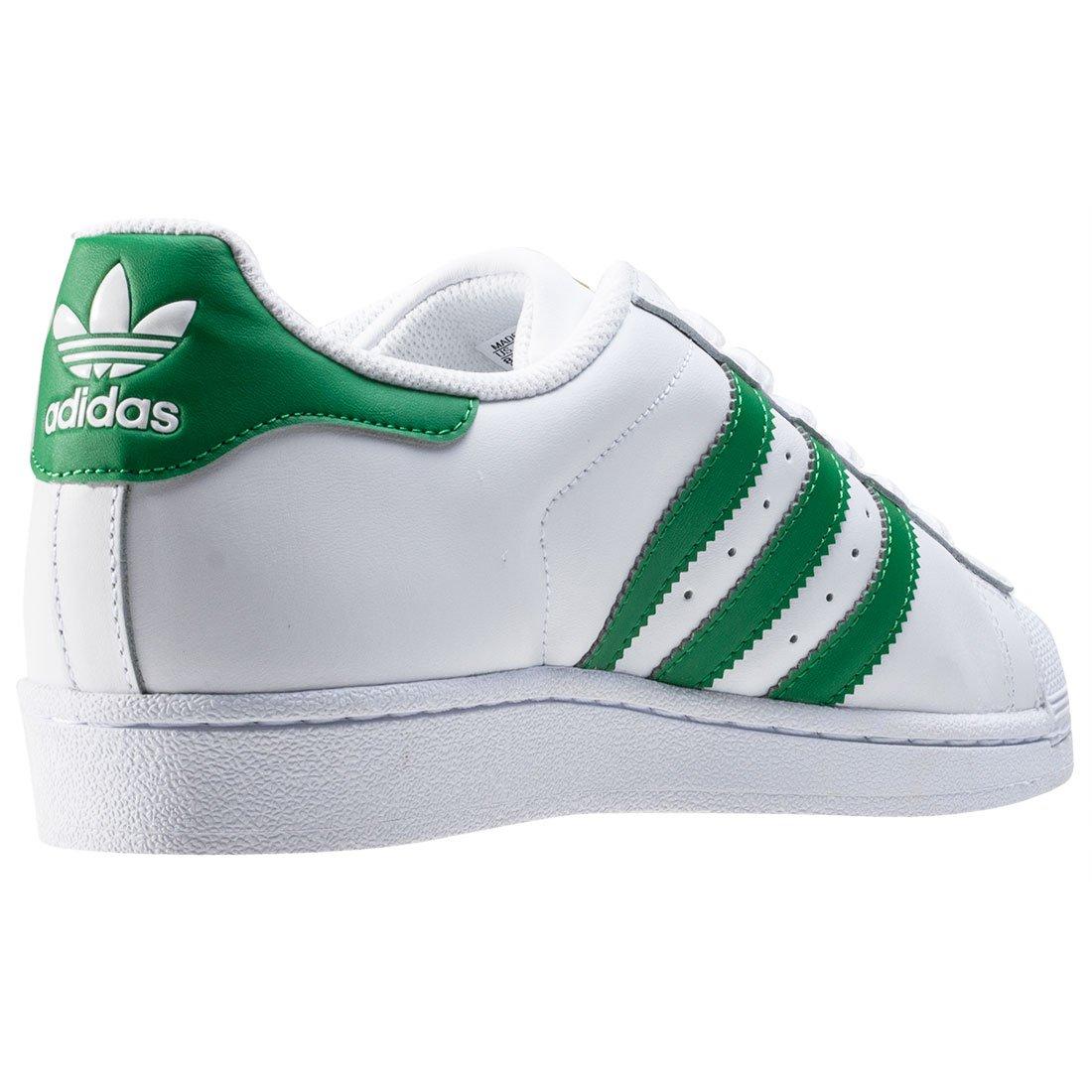 f26af3251b8bcc adidas Superstar Foundation - ftwwht green goldmt  Amazon.de  Sport    Freizeit