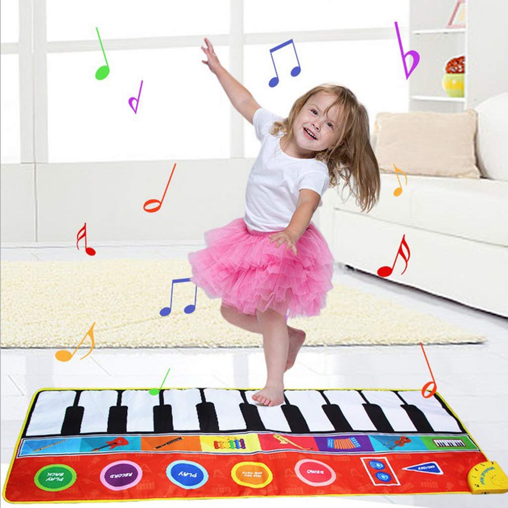 Toygogo Musical Music Piano Play Baby Mat Animal Educational Mat 148x60cm by Toygogo (Image #3)
