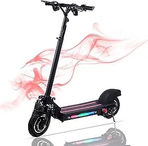 Wetour 1200 W Scooter eléctrico 48 V/22 Ah – Velocidad máxima ...