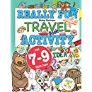 really fun travel activity book for 7 9 year olds fun educational