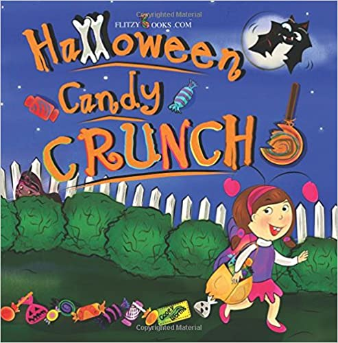 Book Halloween Candy Crunch!: (Includes Real Picture Search Game)