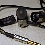 Amazon.com: AKG K374SLV Premium High-Performance In-Ear