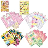 Aikatsu! Card with fashion letter Angely Sugar & HAPPY RAINBOW & Aurora Fantasy set (japan import) by Bandai