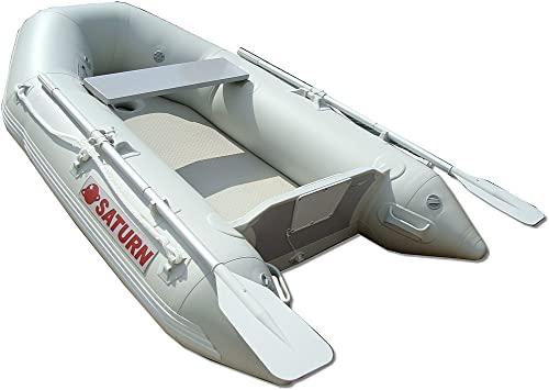 Newport Vessels 12ft 6in Catalina Inflatable Dinghy Boat Transom Sport Tender – 6 Person – 20 Horsepower USCG Rated