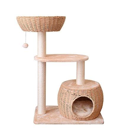 Xiaoli Árbol para Gatos Gato Columpio Gato Rascador Rascador árbol ...