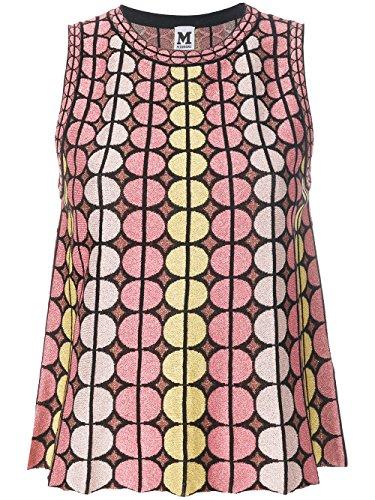 Di Geometrica Cotone Con Stampa Top In Misto Multicolore Mmissoni qwax0FE