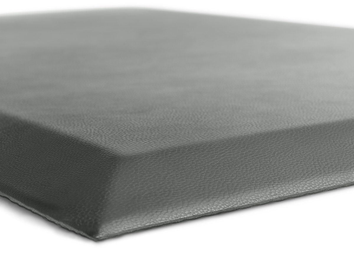 The Original 3/4'' GORILLA GRIP (R) Premium Anti-Fatigue Comfort Mat, Perfect for Kitchen and Office Standing Desk, Ergonomically Engineered, 6 Colors and 3 Sizes, Non-Toxic, 70x24 inches (Gray) by Gorilla Grip