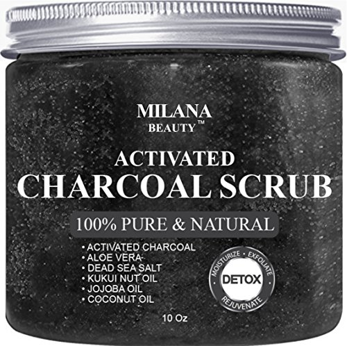Activated Charcoal Scrub oz Exfoliation