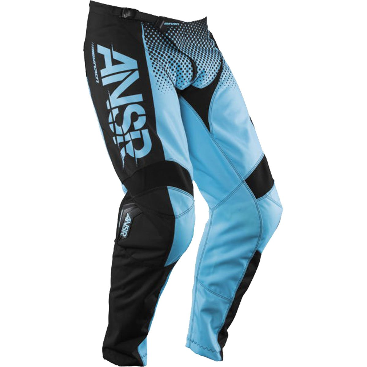 Answer Racing A17.5 Syncron Men's Off-Road Motorcycle Pants - Blue/Black / Size 36 by Answer
