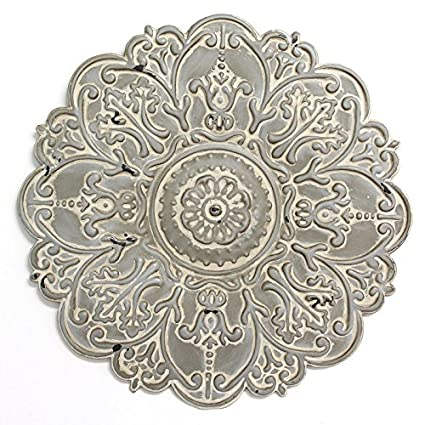 Amazon.com: Bungalow Rose Small Ornamental Distressed Hand-Crafted ...