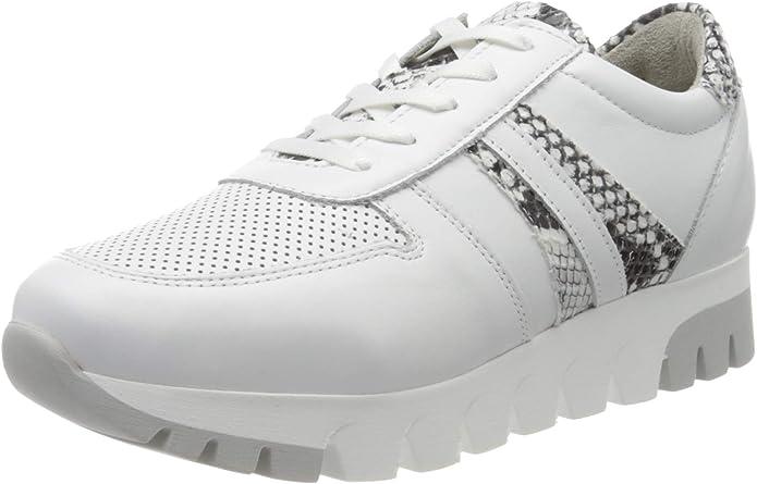 Tamaris Sneakers 23750-24 Damen Weiß Schlangenmuster
