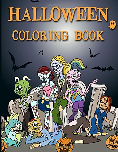 Halloween Coloring Book: A Stress Relief Coloring Book For Adults PDF