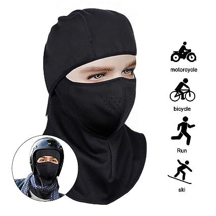 fa1962de828 NINESUN Balaclava Hood Ski Mask - Winter Face Mask Windproof for Men    Women Outdoor Motorcycling